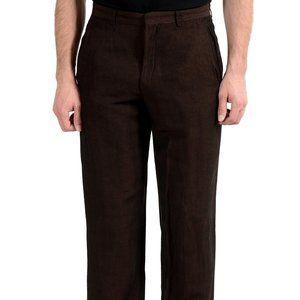 Gianfranco Ferre Studio Men's Maroon Dress Pants